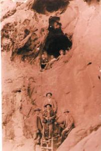 Tajo de Las Figuras 1913