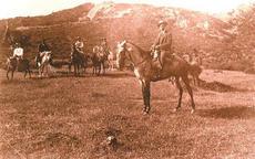 Tajo de Las Figuras expedición 1913