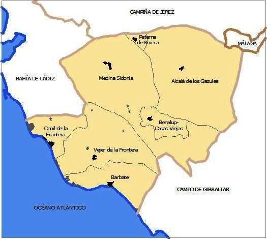 1.Mapa Comarcal