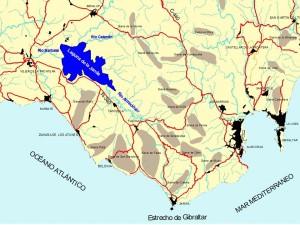La Janda mapa