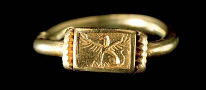 Anillo con sello