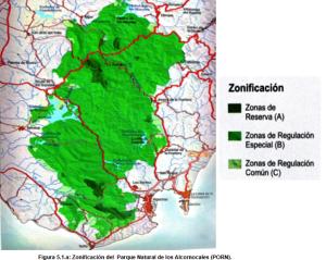 Zonificación PNLA