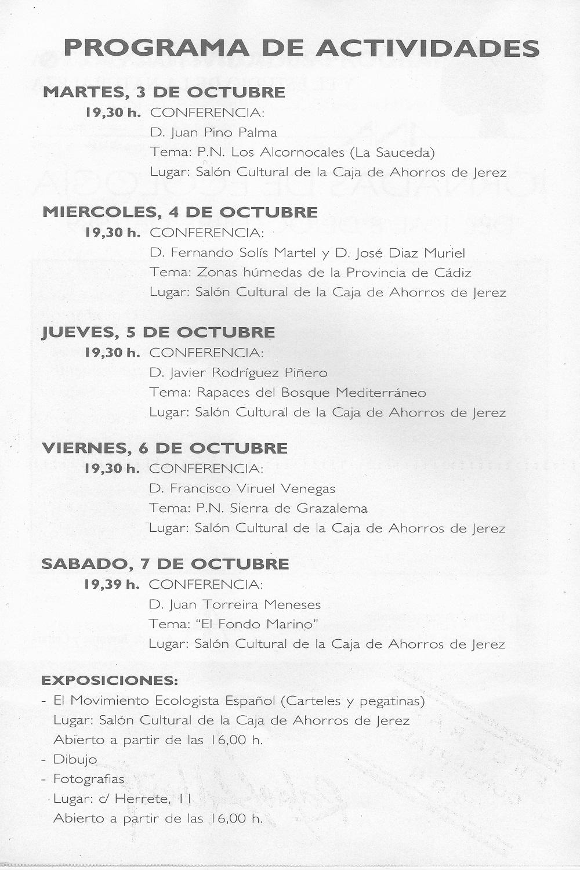 1989 Jornadas de Ecologia 2